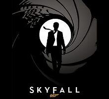 Skyfall James Bond 007 by metroemporium