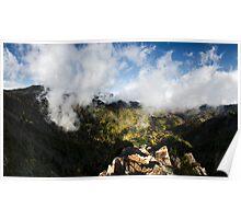 Charles Bunion Panorama - Great Smoky Mountains National Park, North Carolina Poster
