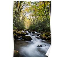 Oconaluftee River - Great Smoky Mountains National Park, North Carolina Poster