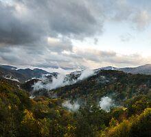 One Autumn Morning - Great Smoky Mountains National Park, North Carolina by Jason Heritage