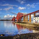 RNLI under the Bridge by Tom Gomez