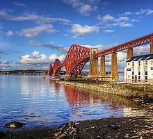 RNLI under the Bridge by Tom Gomez