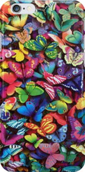 Butterflies- iphone case by ksully