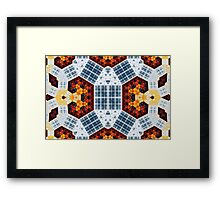 Geometric Patterns No. 52 Framed Print