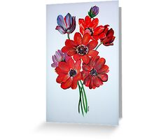 The Wild Anemone Greeting Card