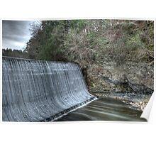 Sandy Hook Mill Dam Poster