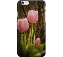 Pink Tulips VRS2 iPhone Case/Skin