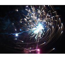 Effervescence - Fire Spiral Photographic Print