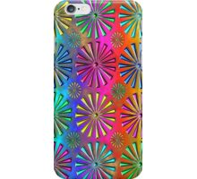 Neon Snowflakes iPhone Case/Skin
