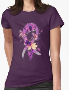 Beautiful purple butterflies  Womens Fitted T-Shirt