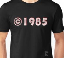 Year of Birth ©1985 - Dark variant (2) Unisex T-Shirt