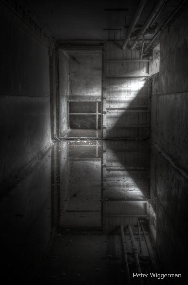 Flooded basement by Peter Wiggerman