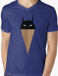 Black Vanilla Bat Mens V-Neck T-Shirt