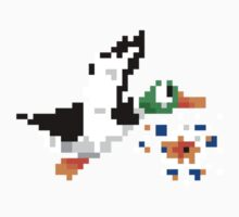 8-Bit Nintendo Duck Hunt 'Miss' Kids Clothes