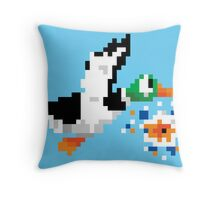 8-Bit Nintendo Duck Hunt 'Miss' Throw Pillow