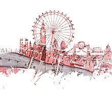 London skyline maps by JBJart