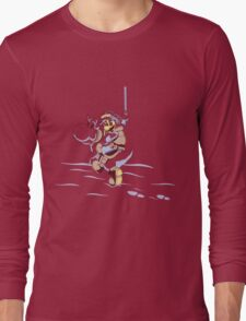 Super Mario Tauntaun Land Long Sleeve T-Shirt