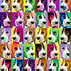 Basset collage for I-Phone by pateabag