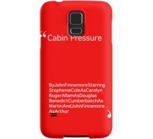Cabin Pressure Intro Samsung Galaxy Case/Skin
