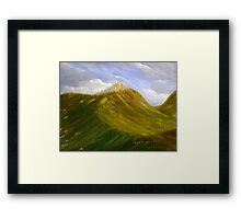 Cathedral Mountain Framed Print