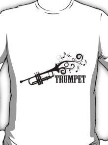 Trumpet with Swirls T-Shirt