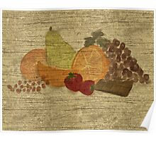 Still Life with Fruit and Chocolate Poster
