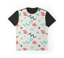 Modern hand draw colorful abstract seamless pattern  Graphic T-Shirt