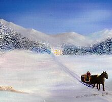 Sleigh Ride by Rick Schimpf