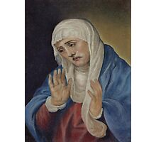 Mother of Sorrows, after Titian Photographic Print