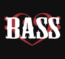 Bass Clef Heart by shakeoutfitters