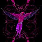 Pink Parrot by Adamzworld