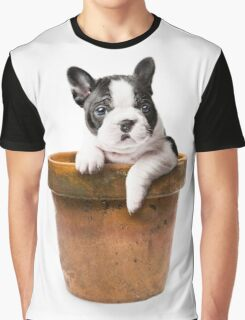 Potted Pooch Graphic T-Shirt