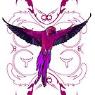 Pink Parrot 2 by Adamzworld