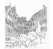 promenade en Alsace (france) Photographic Print