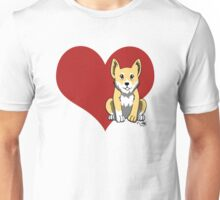 Welsh Corgi Love Unisex T-Shirt