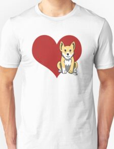 Welsh Corgi Love T-Shirt