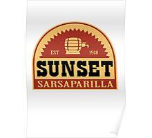 Fallout 4 - Sunset Sarsaparilla - Logo Poster