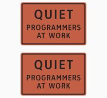 Programmers At Work (Small) ×2 by csyz ★ $1.49 stickers