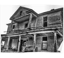 Haunting Farmhouse Poster