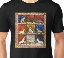 Medieval Animal Bestiary Unisex T-Shirt