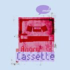 Angry Cassette by ddesigns
