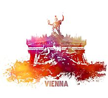Vienna skyline Photographic Print