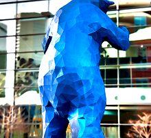 Blue Bear by Michael Andersen