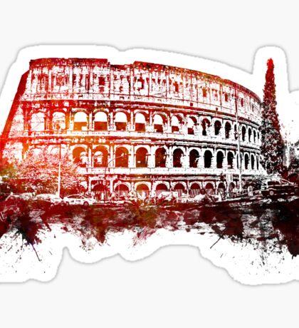 Rome, Colosseum skyline Sticker