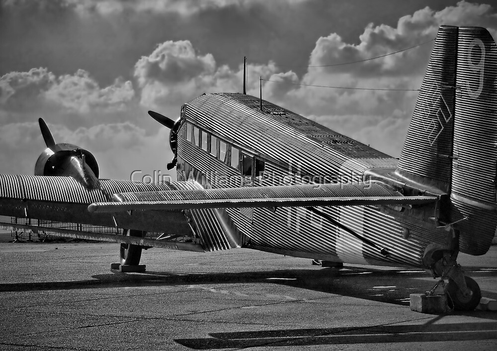 Ju52 - Duxford - HDR by Colin  Williams Photography