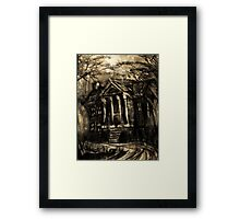 Plantation Framed Print