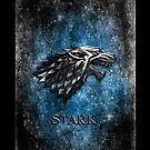 Silver Wolf Stark Clan apple iphone 5, iphone 4 4s, iPhone 3Gs, iPod Touch 4g case, Available for T-Shirt man and woman by Pointsale store.com