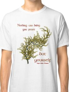 Flowering Tree Inspirational Quote Classic T-Shirt