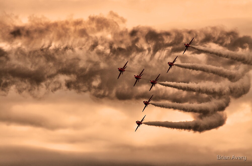 Red Arrows by Brian Avery