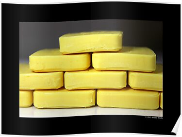 Citrus Aloe Hotel Bath Soap Bar  by © Sophie W. Smith